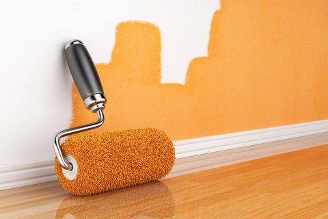Для того чтобы покрасить стены