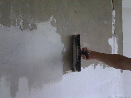 Шпаклевка бетонных стен под