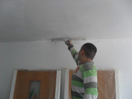 шпатлёвка стен и потолков