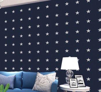Творческо-синий звезда
